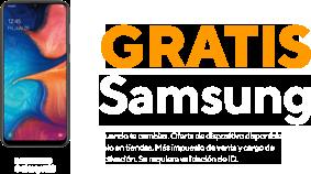 Samsung gratis cuando te cambias. Más impuesto de venta y cargo de activación. Oferta de dispositivo disponible solo en tiendas. Se requiere validación de ID.
