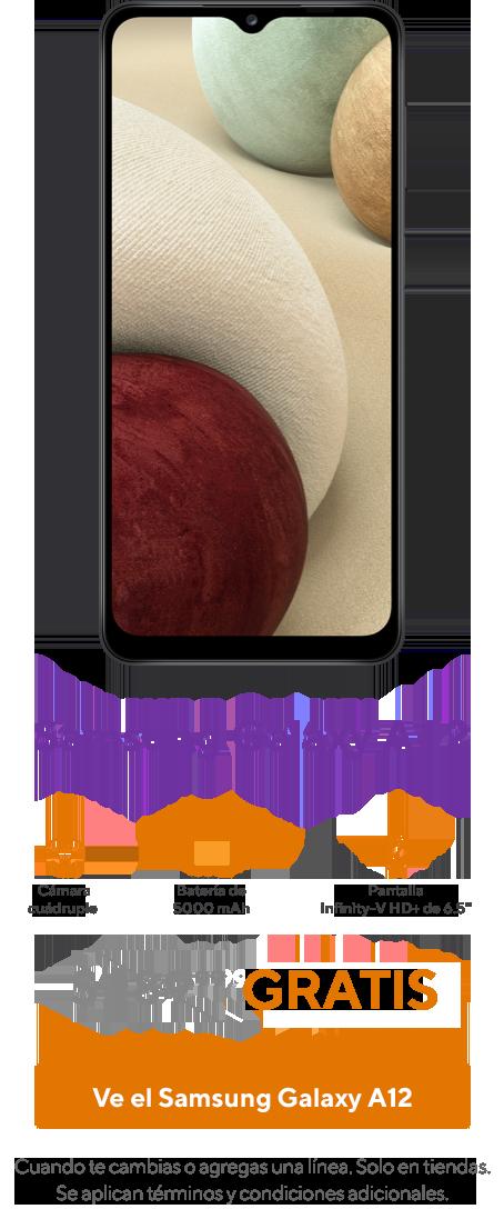 Elsmartphone Samsung Galaxy A12.