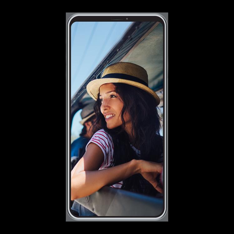 Tres teléfonos 5G