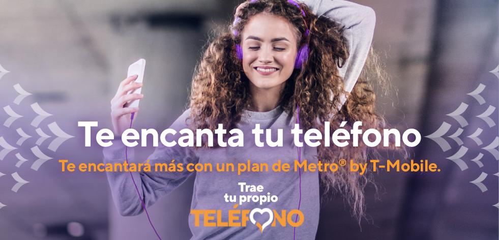 Te encanta tu teléfono. Te encantará más con un plan de Metro by T-Mobile.