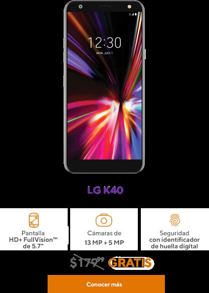 LG K40 de Metro by T-Mobile