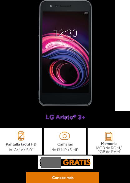 LG Aristo 3+ de Metro by T-Mobile
