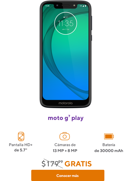 moto g7 play de Metro by T-Mobile