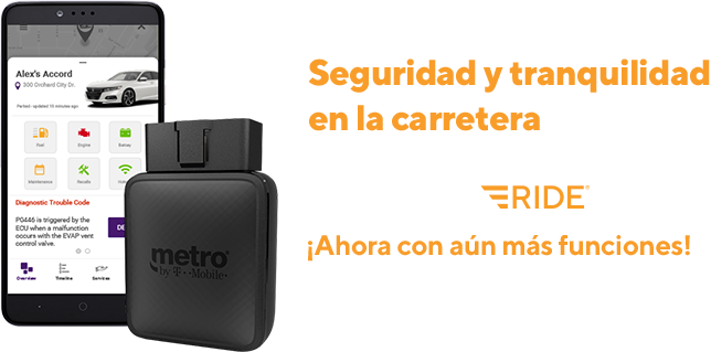 ¡MetroSMART Ride! ¡Seguridad y tranquilidad aseguradas con MetroSMART Ride!