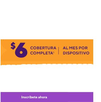 Servicio móvil sin preocupaciones. Obtén seguro para el dispositivo y seguridad móvil conPremium HandsetProtection